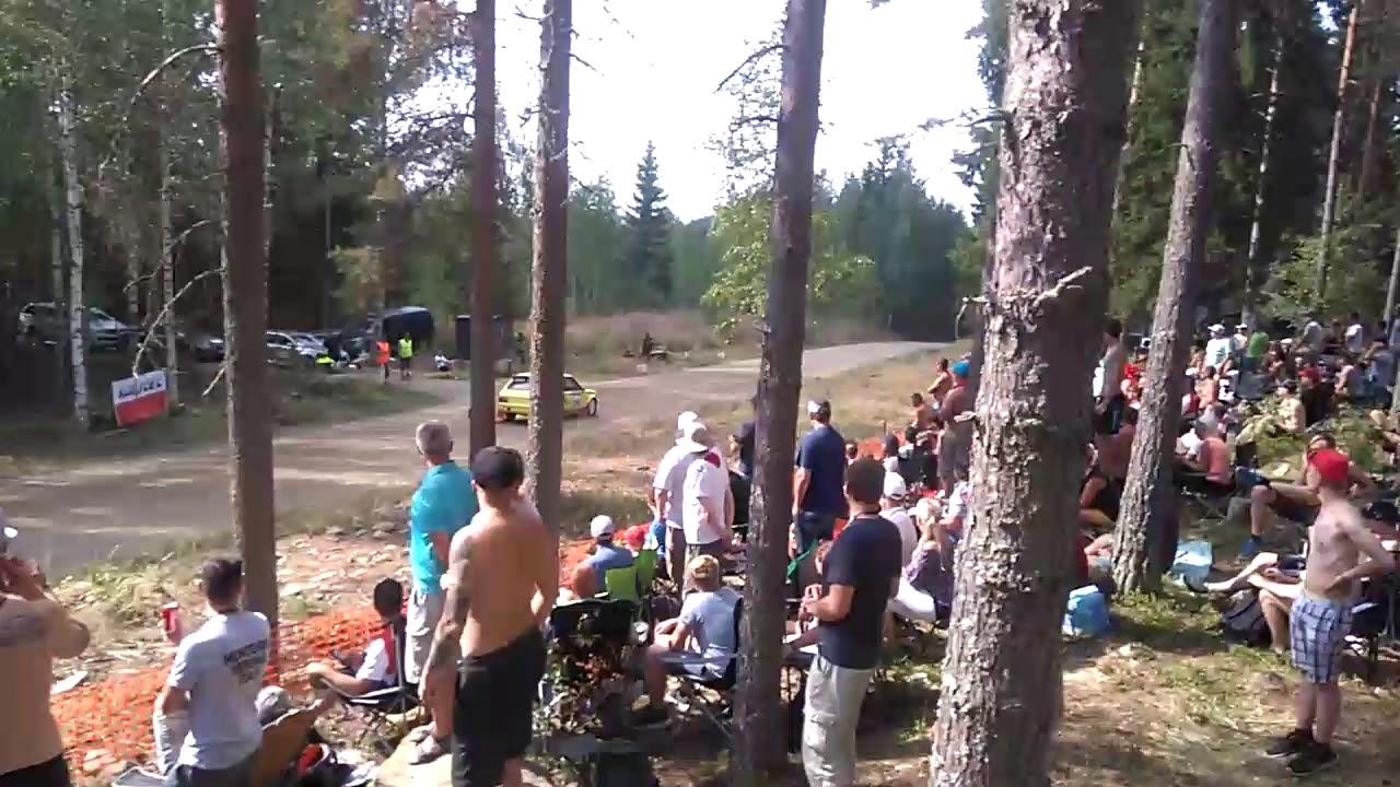 Neste Rally Finland 2018. Ss 18.